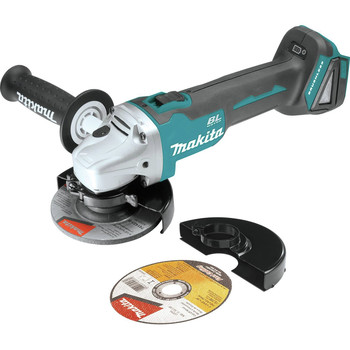 Factory Reconditioned Makita XAG04Z-R 18V LXT Lithium-Ion Brushless Cordless 4-1/2 / 5 in. Cut-Off/Angle Grinder, (Tool Only) image number 0