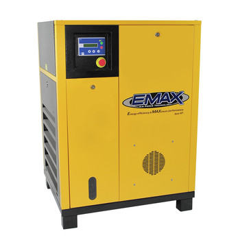 EMAX ERS0100001 10 HP Rotary Screw Air Compressor