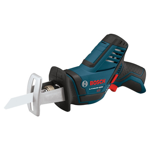 Bosch PS60BN 12V Max Lithium-Ion Pocket Reciprocating Saw (Bare Tool) with Exact-Fit Tool Insert Tray