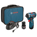 Bosch PS22-02 12V Max Lithium-Ion EC Brushless 2-Speed 1/4 in. Cordless Pocket Driver Kit (2 Ah) image number 0