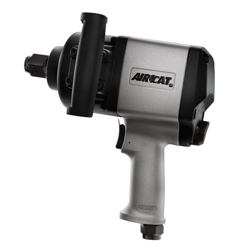 AIRCAT 1880-P 1 in. Heavy-Duty Aluminum Pistol Grip Twin Hammer Air Impact Wrench