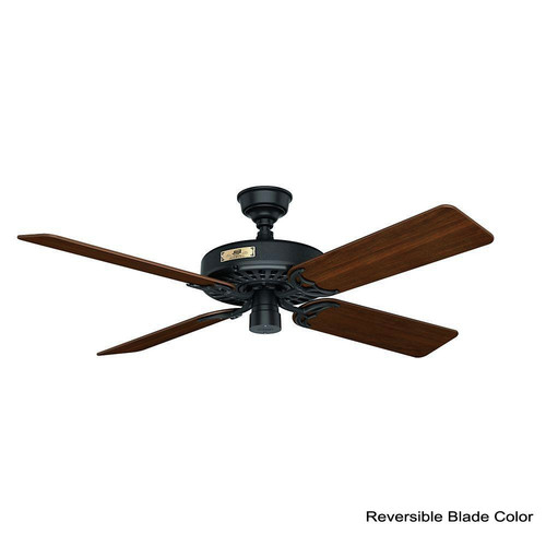 Hunter 23838 52 in. Outdoor Original Black Ceiling Fan image number 2