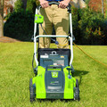 Greenworks 25142 10 Amp 16 in. 2-in-1 Electric Lawn Mower image number 3