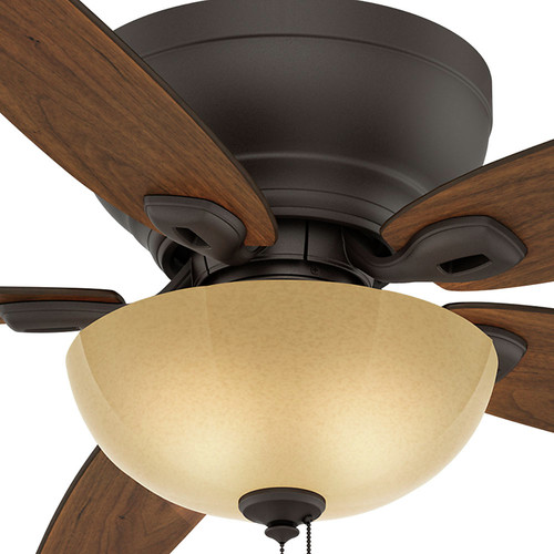 Casablanca 54102 Durant 54 in. Transitional Maiden Bronze Smoked Walnut Indoor Ceiling Fan image number 4