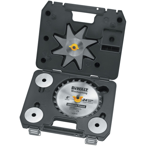 Dewalt DW7670 8 in. 24 Tooth Stacked Dado Set image number 0