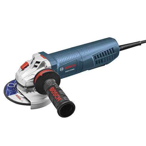 Bosch AG50-11VSPD 5 in. 11 Amp Variable-Speed Angle Grinder with No Lock-On Paddle Switch