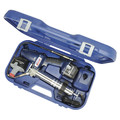 Lincoln Industrial 1844 PowerLuber 18V Cordless Two-Speed Grease Gun Kit with 2 Batteries image number 0