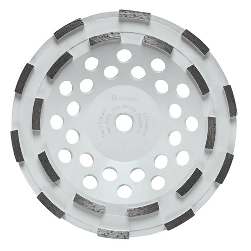 Bosch DC710H 7 in. Double Row Diamond Cup Wheel