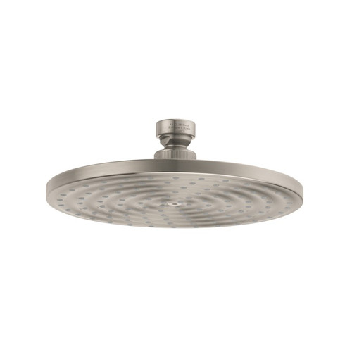 Hansgrohe 27476821 Raindance 7 in. Wall Mount Showerhead (Brushed Nickel)