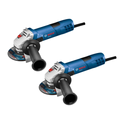 Bosch GWS8-45-2P 7.5 Amp 4-1/2 in. Angle Grinder (2-Pack)
