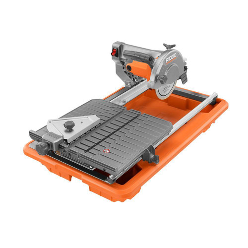 Factory Reconditioned Ridgid R4030 7 In Portable Job Site Wet Tile Saw With Laser Cutline