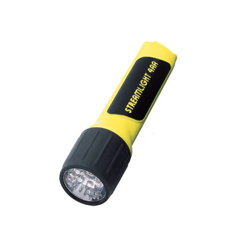 Streamlight 68202 4AA LED ProPolymer Alkaline Battery-Powered Flashlight (Yellow)