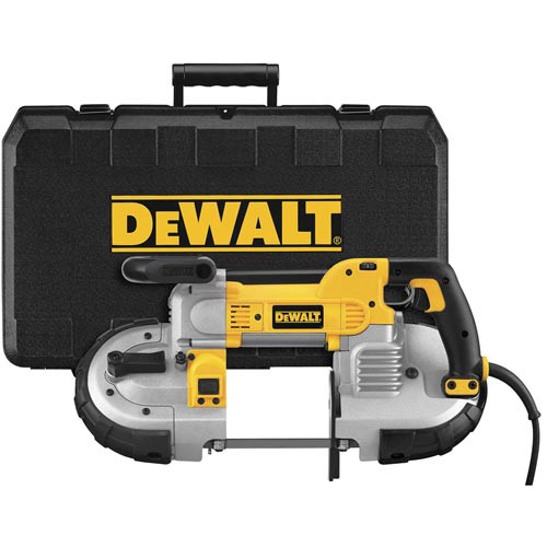 Dewalt DWM120K Heavy Duty Deep Cut Portable Band Saw Kit