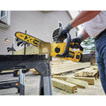 Dewalt DCCS620P1 20V MAX XR 5.0 Ah Brushless Lithium-Ion 12 in. Compact Chainsaw Kit image number 3