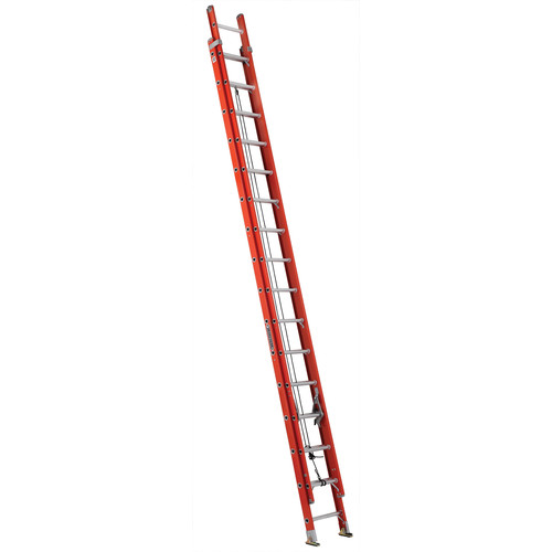 Louisville FE3232 32 ft. Type IA Duty Rating 300 lbs. Load Capacity Fiberglass Extension Ladder