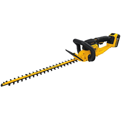 Dewalt DCHT820P1 20V MAX 5.0 Ah Cordless Lithium-Ion 22 in. Hedge Trimmer image number 0