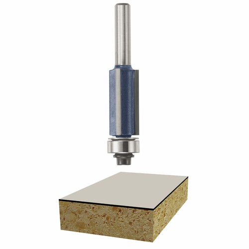 Bosch 85216M 1/2 in. x 1 in. Laminate Flush Trim Router Bit image number 0