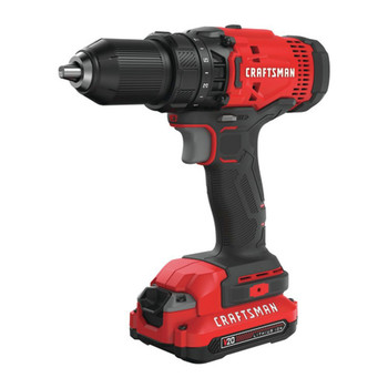 Factory Reconditioned Craftsman CMCD700C1R 20V Variable Speed Lithium-Ion 1/2 in. Cordless Drill Driver Kit with 1 (1.3 Ah) Battery