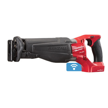 Milwaukee 2721-20 M18 FUEL SAWZALL Reciprocating Saw with ONE-KEY Technology (Tool Only)
