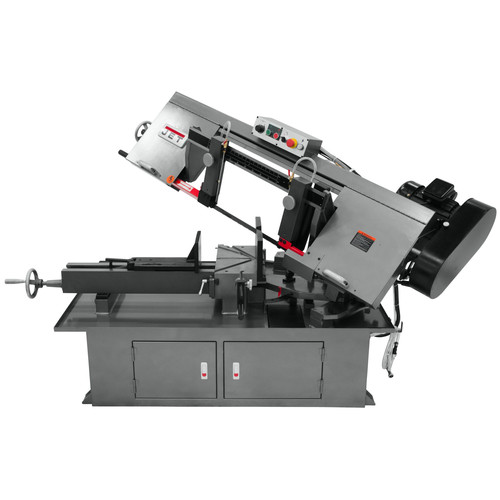 JET 413410 230V 10 in. x 18 in. Horizontal Dual Mitering Bandsaw image number 0