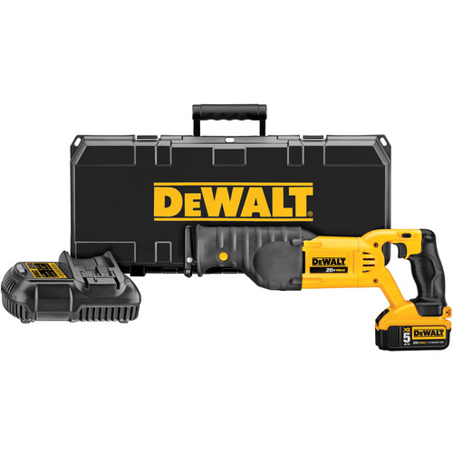 Dewalt DCS380P1 20V MAX Cordless Lithium-Ion Reciprocating Saw Kit