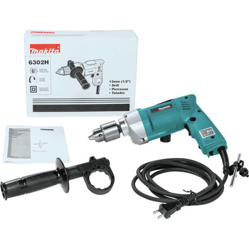 Makita 6302H 6.5 Amp 0 - 550 RPM Variable Speed 1/2 in. Corded Drill image number 2