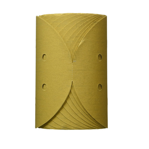 3M 1638 6 in. P220A Stikit Gold Disc Roll D/F (175-Pack)