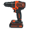 Black & Decker BDCDD220C 20V MAX Lithium-Ion 2-Speed 3/8 in. Cordless Drill Driver Kit (1.5 Ah) image number 1