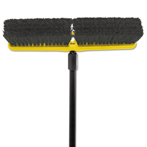 Rubbermaid 9B07BLA 18 in. Tampico-Bristle Medium Floor Sweeper/Push Broom Head