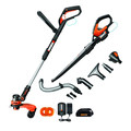 Worx WG951.2 20V Lithium-Ion 2-Piece Outdoor Tool Combo Kit