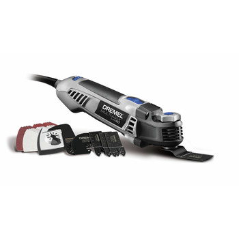 Factory Reconditioned Dremel MM50-DR-RT Multi-Max 5 Amp Tool-Less Oscillating Tool Kit with Accessory Set