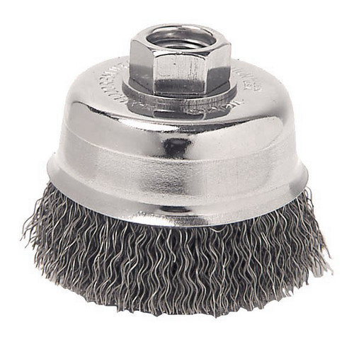 ATD 8232 6 in. Crimped Wire Cup Brush