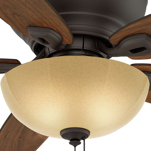 Casablanca 54102 Durant 54 in. Transitional Maiden Bronze Smoked Walnut Indoor Ceiling Fan image number 6