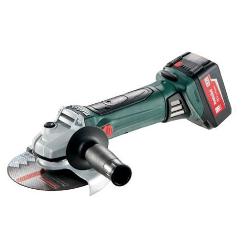 Metabo W18 LTX-150 5.2 18V 5.2 Ah Cordless Lithum-Ion 6 in. Angle Grinder Kit