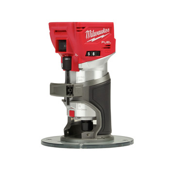 Milwaukee 2723-20 M18 FUEL Cordless Lithium-Ion Compact Router (Tool Only)