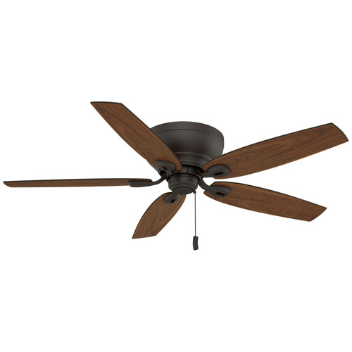 Casablanca 54102 Durant 54 in. Transitional Maiden Bronze Smoked Walnut Indoor Ceiling Fan image number 1