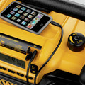 Dewalt DC012 7.2 - 18V XRP Cordless Worksite Radio and Charger (Tool Only) image number 7