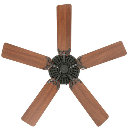 Hunter 23838 52 in. Outdoor Original Black Ceiling Fan image number 8