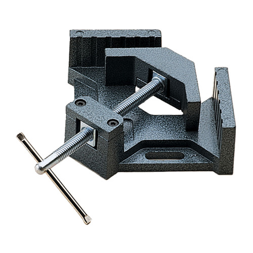 Wilton 44324 90-Degree Angle Clamp, 4 in. Throat, 2-3/4 in. Miter Capacity, 1-3/8 in. Jaw Height, 2-1/4 in. Jaw Length