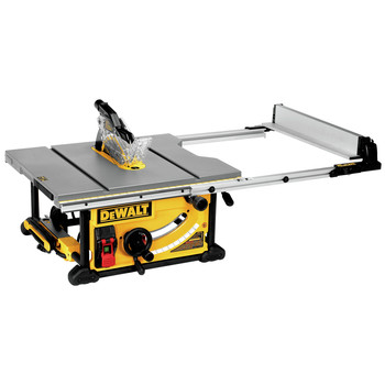 Dewalt DWE7491RS 10 in. 15 Amp  Site-Pro Compact Jobsite Table Saw with Rolling Stand image number 6