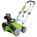 Greenworks GWSN20130 13 Amps 20 in. Electric Snow Thrower