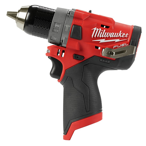 Factory Reconditioned Milwaukee 2504-80 M12 FUEL Lithium-Ion 1/2 in. Cordless Hammer Drill (Tool Only) image number 0
