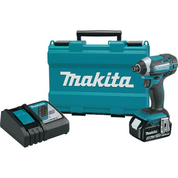 Factory Reconditioned Makita XDT111-R 18V LXT 3.0 Ah Cordless Lithium-Ion 1/4 in. Hex Impact Driver Kit image number 0
