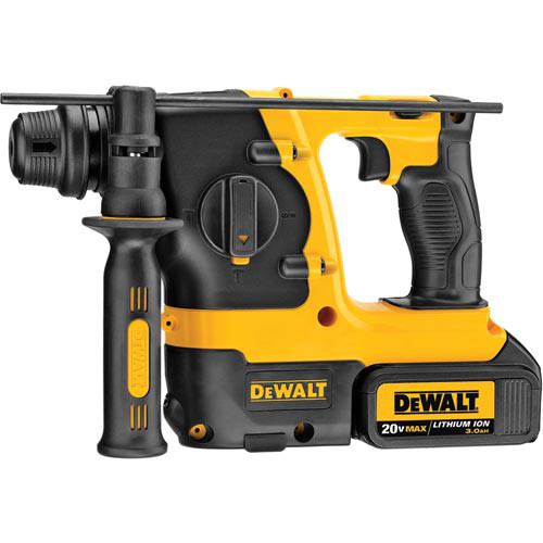 Factory Reconditioned Dewalt DCH213L2R 20V MAX Cordless Lithium-Ion 3-Mode SDS-Plus Rotary Hammer Kit