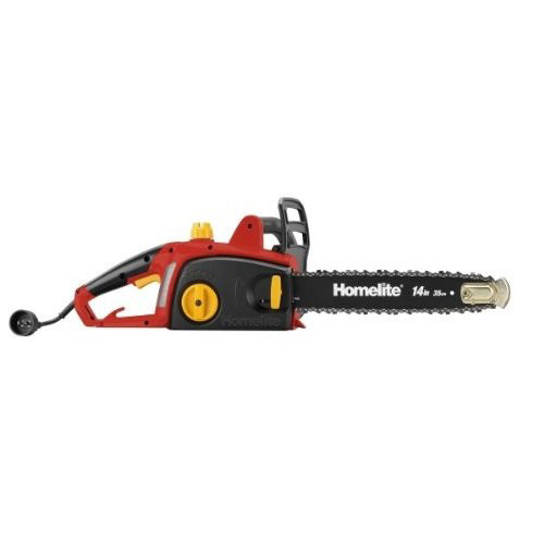Factory Reconditioned Homelite ZR43100 9.0 Amp 14 in. Electric Chain Saw