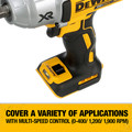Dewalt DCF899HB 20V MAX XR Cordless Lithium-Ion 1/2 in. Brushless Friction Ring Impact Wrench (Tool Only) image number 2