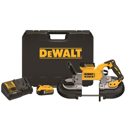 Dewalt DCS374P2 20V MAX XR 5.0 Ah Cordless Lithium-Ion 5 in. Band Saw Kit image number 0