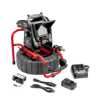 Ridgid 65103 SeeSnake Compact2 Camera Reels Kit with VERSA System