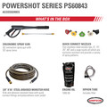 Simpson 60843 PowerShot 4400 PSI 4.0 GPM Professional Gas Pressure Washer with AAA Triplex Pump image number 1