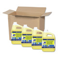 Fab 57447 Dishwashing Liquid, Lemon Scent, One Gallon Bottle, 4/carton image number 0